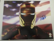 Stan Lee Signed Autographed 16x20 Photo Marvel Universe Iron Man JSA COA 8