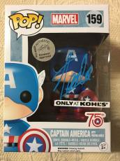 Stan Lee Signed Autographed Captain America Funko Pop Marvel Universe JSA COA