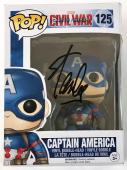 Stan Lee Signed Autographed Captain America POP Figure JSA Authenticated Black