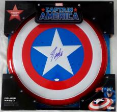 Stan Lee Signed Autographed Captain America Shield JSA Authenticated