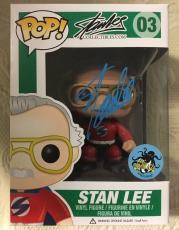 Stan Lee Signed Autographed ComikaZe Stan Lee Funko Pop Marvel Universe JSA COA