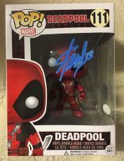 Stan Lee Signed Autographed Deadpool Funko Pop Marvel Universe JSA COA 6