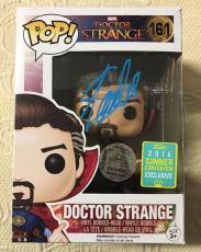 Stan Lee Signed Autographed Doctor Strange Funko Pop Marvel Universe JSA COA 3