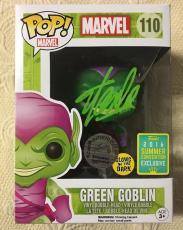 Stan Lee Signed Autographed Green Goblin Funko Pop Marvel Universe JSA COA 1