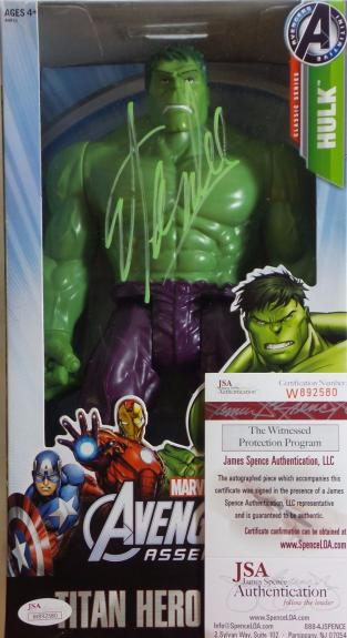 Stan Lee Signed Autographed Hulk Toy JSA Authenticated Marvel