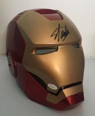 STAN LEE Signed Autographed Iron Man MARVEL LEGENDS SERIES HELMET JSA COA 1