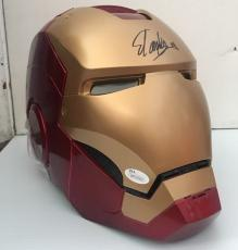 STAN LEE Signed Autographed Iron Man MARVEL LEGENDS SERIES HELMET JSA COA 2