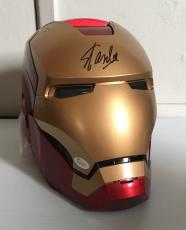 STAN LEE Signed Autographed Iron Man MARVEL LEGENDS SERIES HELMET JSA COA RARE 1