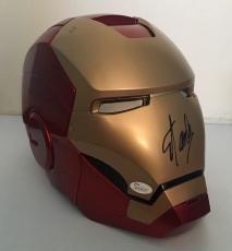 STAN LEE Signed Autographed Iron Man MARVEL LEGENDS SERIES HELMET JSA COA RARE