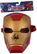 Stan Lee Signed Autographed Iron Man Toy Mask JSA Authenticated Marvel