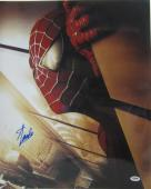 Stan Lee Signed Autographed Marvel Comics Spider-man 16x20 Photo Psa/dna Ab63319