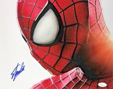 Stan Lee Signed Autographed Spider-Man 11x14 Photo JSA Authenticated