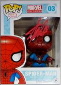 Stan Lee Signed Autographed Spider-Man POP Figure JSA Authenticated