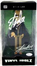 Stan Lee Signed Autographed Stan Lee Vinyl Idolz Figure JSA Authenticated