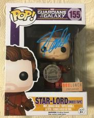 Stan Lee Signed Autographed Star Lord Funko Pop Marvel Guardians  JSA COA 13