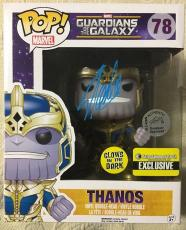 Stan Lee Signed Autographed Thanos Exclusive Funko Pop Marvel Universe JSA COA