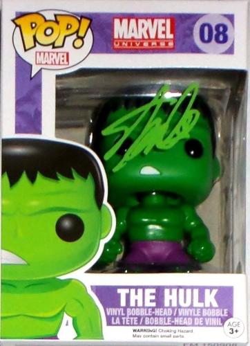Stan Lee Signed Autographed The HULK POP Figure JSA Authenticated