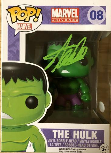 Stan Lee Signed Autographed The HULK POP Figure JSA Authenticated Black