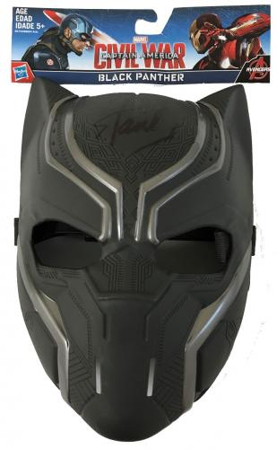 Stan Lee Signed Autographed Ultimate Black Panther Toy Mask JSA Authen Marvel