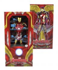 Stan Lee Signed Avengers Age of Ultron Iron Man Mark 43 - 1:4 Scale Statue
