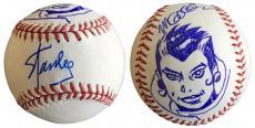 Stan Lee Signed Baseball w/ Michael Golden Sketch of Rogue Lee Holo JSA L26415