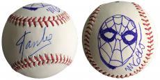Stan Lee Signed Baseball w/ Michael Golden Sketch of Spider-Man JSA L26414