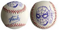 Stan Lee Signed Baseball w/ Michael Golden Sketch of Spider-Man JSA L26418