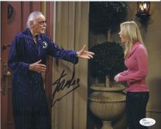 Stan Lee Signed 'big Bang Theory' 8x10 Photo Autograph Jsa Coa