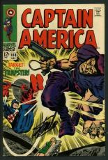 Stan Lee Signed Captain America #108 Comic Book The Trapster PSA/DNA #W18675