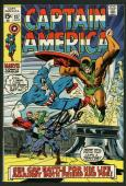 Stan Lee Signed Captain America #127 Comic Book Nick Fury PSA/DNA #W18677
