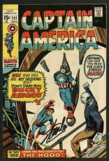 Stan Lee Signed Captain America #131 Comic Book Hood/Bucky Reborn PSA #W18644