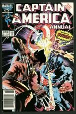 Stan Lee Signed Captain America #8 Comic Book Annual/Wolverine PSA/DNA #W18822