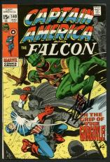 Stan Lee Signed Captain America & Falcon #140 Comic Book Gargoyle PSA #W18680