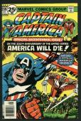 Stan Lee Signed Captain America & Falcon #200 Comic Book Bicentennial PSA W18679
