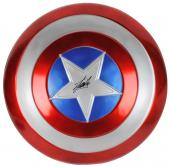Stan Lee Signed Captain America Full Size Shield W/ Stan Lee Hologram & PSA/DNA