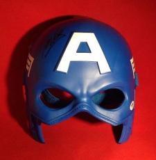 Stan Lee signed Captain America Hero Mask PSADNA  # X72421