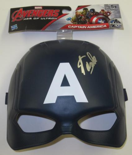 Stan Lee Signed Captain America Marvel Autograph Excelsior Hologram Exact Proof