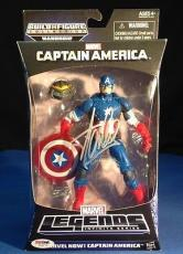 Stan Lee signed Captain America Marvel Now!  Figure PSADNA  #Y10275