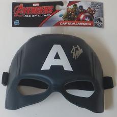 Stan Lee Signed Captain America Mask Marvel Autograph Excelsior Hologram Proof