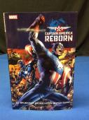 Stan Lee Signed Captain America Reborn Hardcover Book - PSA/DNA # X08239