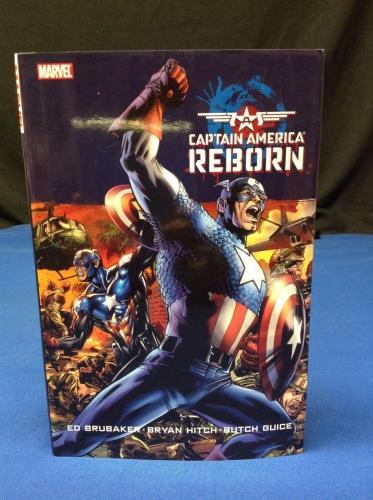 Stan Lee Signed Captain America Reborn Hardcover Book - PSA/DNA # X08239