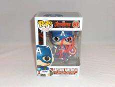 Stan Lee Signed Captain America The Avengers Funko Pop Figure Psa Dna