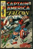 Stan Lee Signed Captain America & The Falcon #135 Comic Book PSA/DNA #W18824