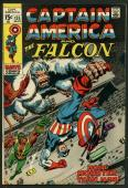 Stan Lee Signed Captain America & The Falcon #135 Comic Book PSA/DNA #W18824