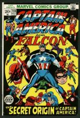 Stan Lee Signed Captain America & The Falcon #155 Comic Book PSA/DNA #W18681