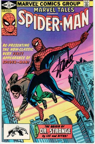 Stan Lee signed Comic Book Amazing Spider-Man #137 Beckett BAS Authentication