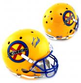 Stan Lee Signed Custom Yellow X-Men Schutt Full Size Helmet