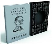 Stan Lee Signed Deluxe Slipcase Ltd Edition Book Amazing Fantastic Incredible