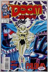 STAN LEE SIGNED DOOM 2099 Her Name Is...Paloma COMIC BOOK #7 AUTO PSA