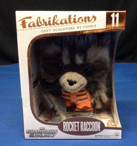 Stan Lee Signed Fabrikations Rocket Raccoon - PSA/DNA # Y09242